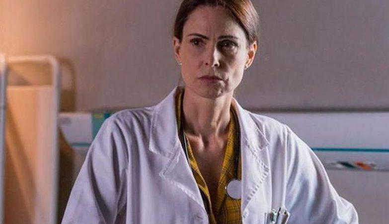"""A personagem Mónica, da novela da TVI """"Ouro Verde"""", que está a ser alvo de críticas por fazer um mau retrato do que é a doença de Crohn"""