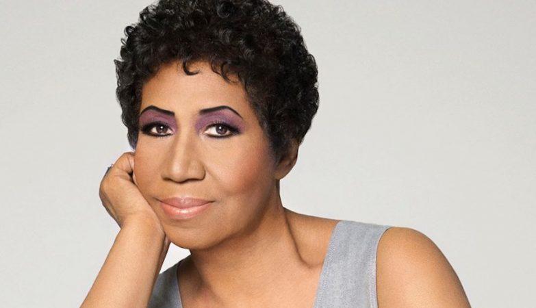 A cantora e compositora Aretha Franklin