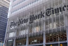 Sede do New York Times em Nova Iorque