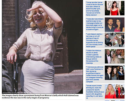 Marilyn Monroe grávida?