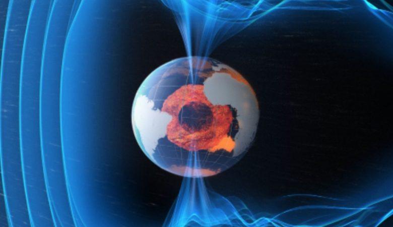 Os campos magnéticos da Terra criam forças complexas à volta do planeta