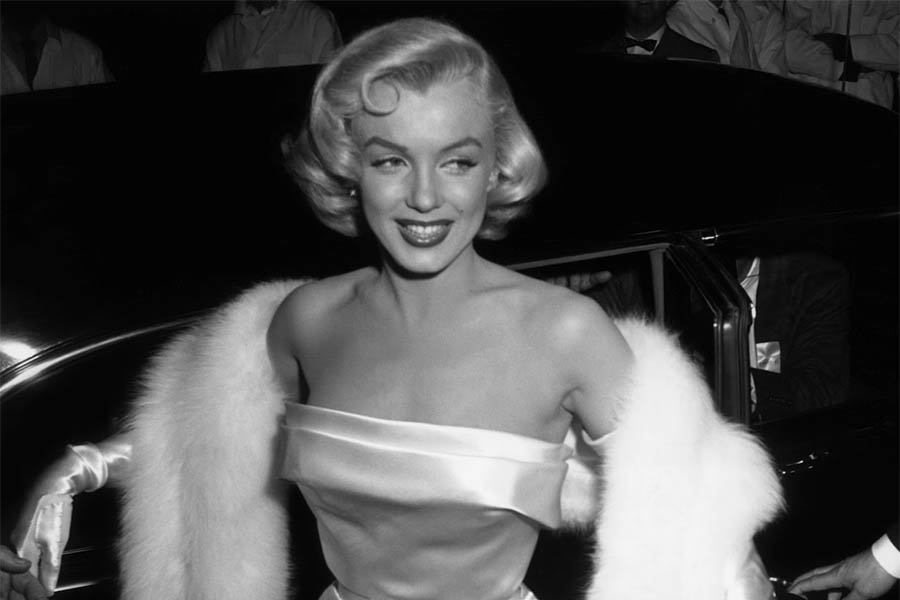 Marilyn Monroe em 1954.