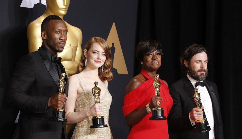 Mahershala Ali, Emma Stone, Viola Davis e Casey Affleck