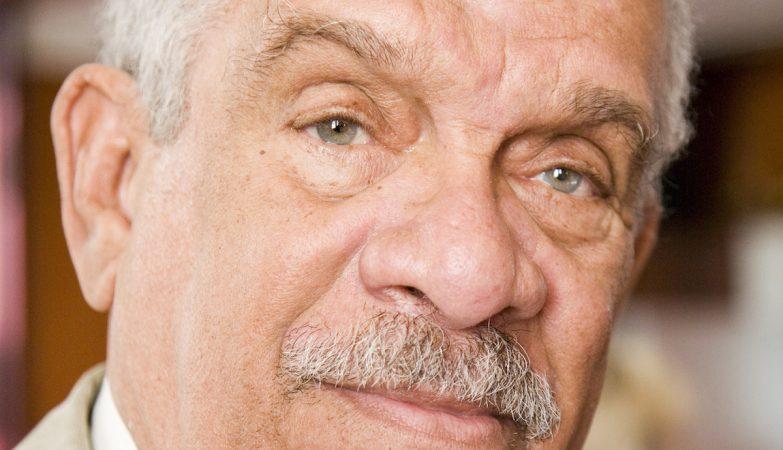 O poeta e vencedor do Nobel Derek Walcott