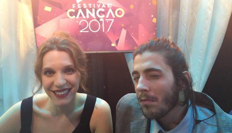 """Liuísa Sobral compôs e o irmão Salvador Sobral cantou """"Amar Pelos Dois"""""""