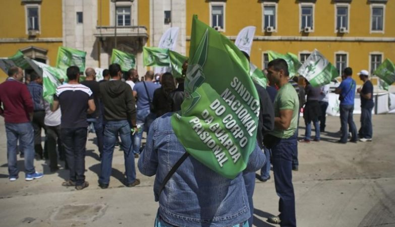 Manifestação do Sindicato Nacional do Corpo da Guarda Prisional (SNCGP)