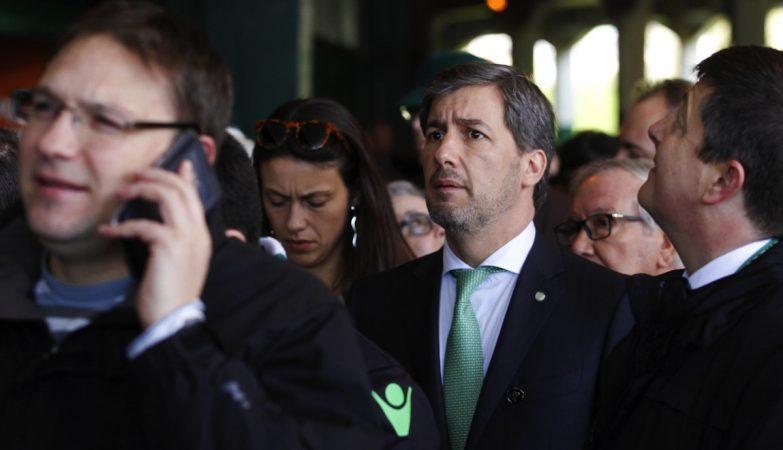 O presidente do Sporting, Bruno de Carvalho