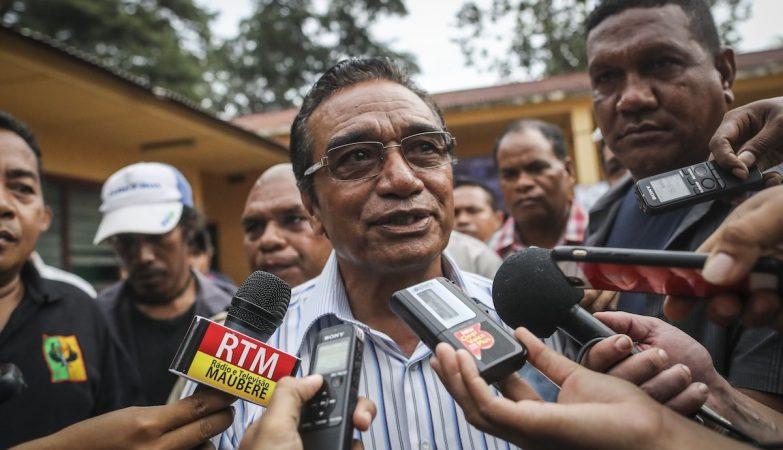 O novo Presidente de Timor-Leste Francisco Guterres Lu-Olo