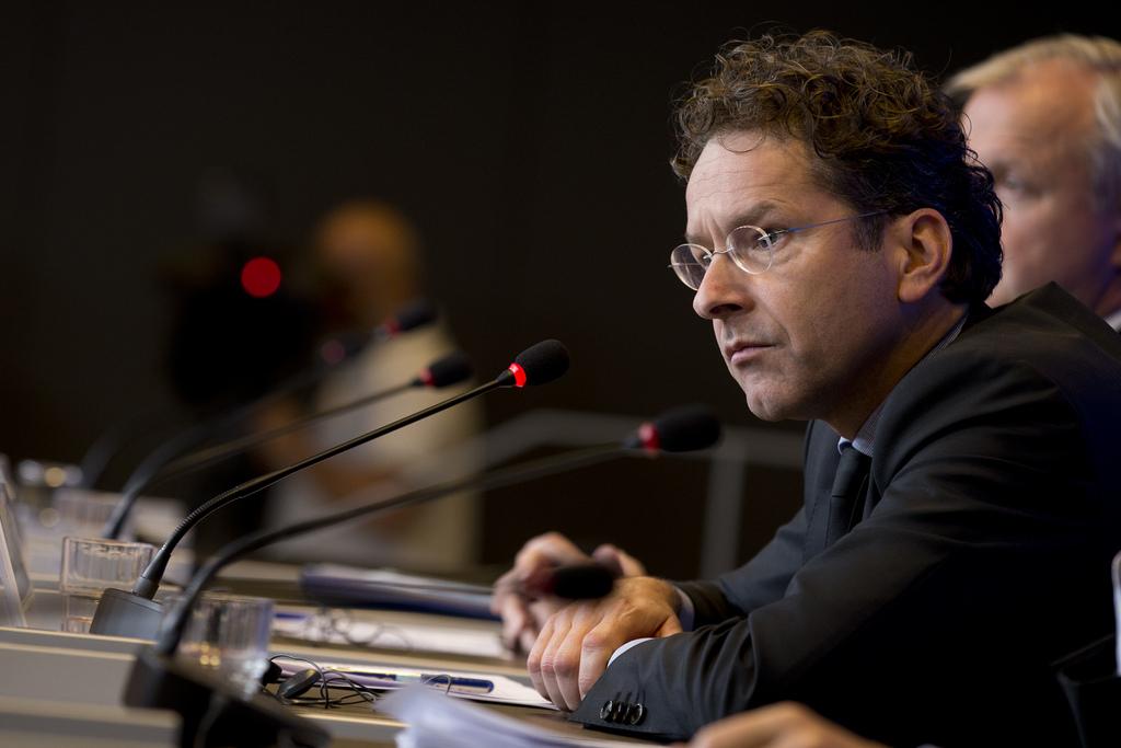 Jeroen Dijsselbloem, presidente do Eurogrupo