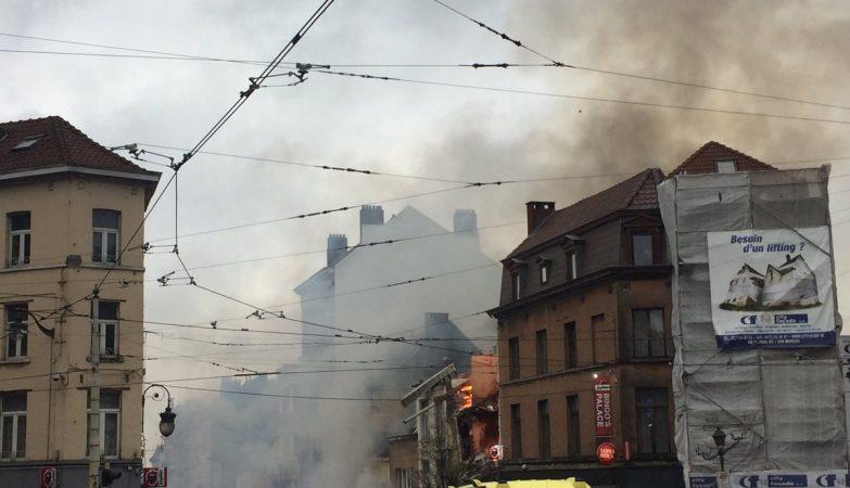 Um morto e sete feridos em explosão em uma casa de Bruxelas