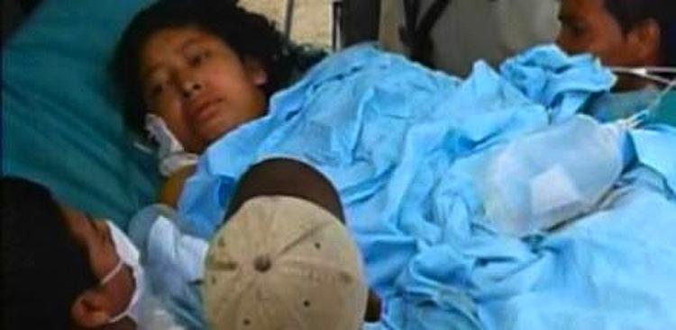 Vilma Trujillo esteve internada em estado grave durante vários dias, antes de morrer