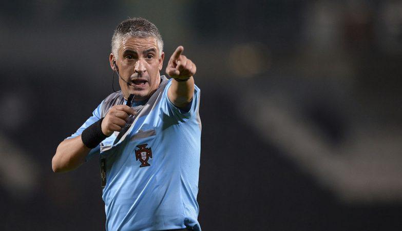 O árbitro Jorge Ferreira