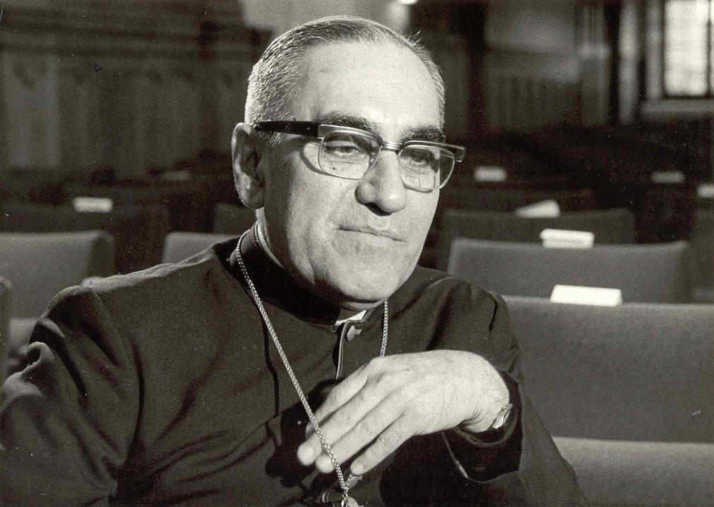 O bispo salvadorenho Óscar Romero