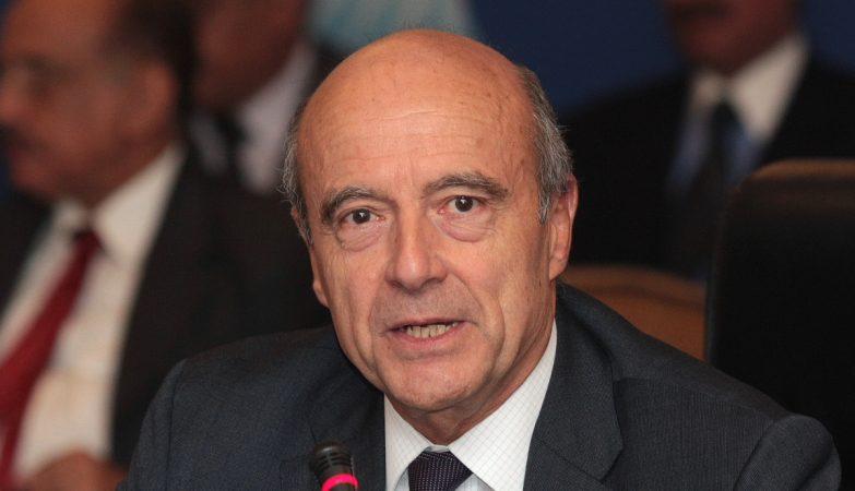 O ex-primeiro-ministro francês Alain Juppé
