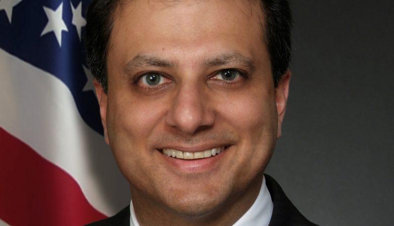 O procurador de Nova York, Preet Bharara