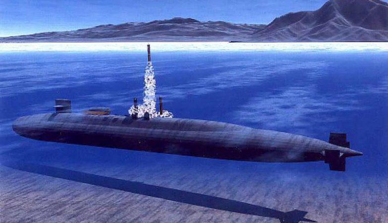 Os submarinos da classe Ohio são equipados com o sistema VLS de lançamento vertical de mísseis e podem transportar até 154 Tomahawks.