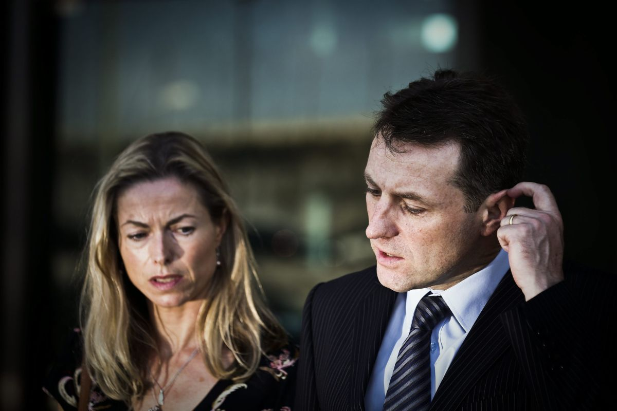 Kate e Gerry McCann, os pais de Maddie