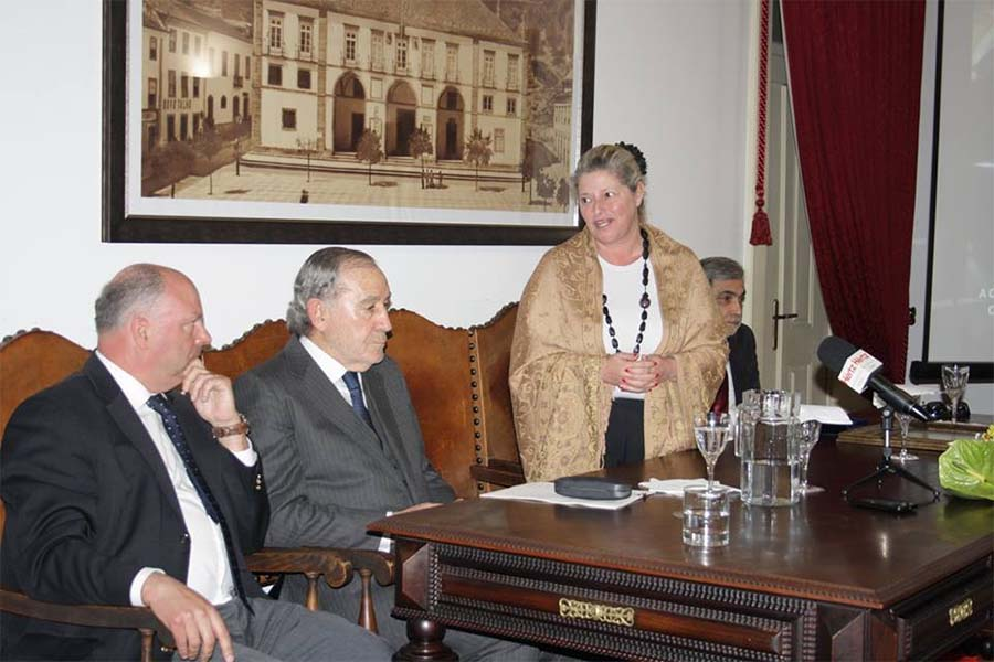 Anabela Freitas, presidente da Câmara de Tomar.