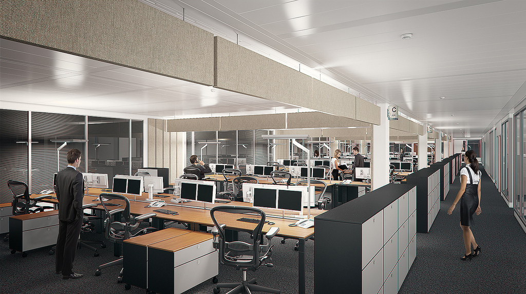 Escrit rios open space podem prejudicar os trabalhadores for Design 4 office lausanne