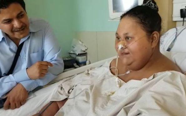 Mulher mais pesada do mundo perde 250 kg em dois meses após cirurgia bariátrica
