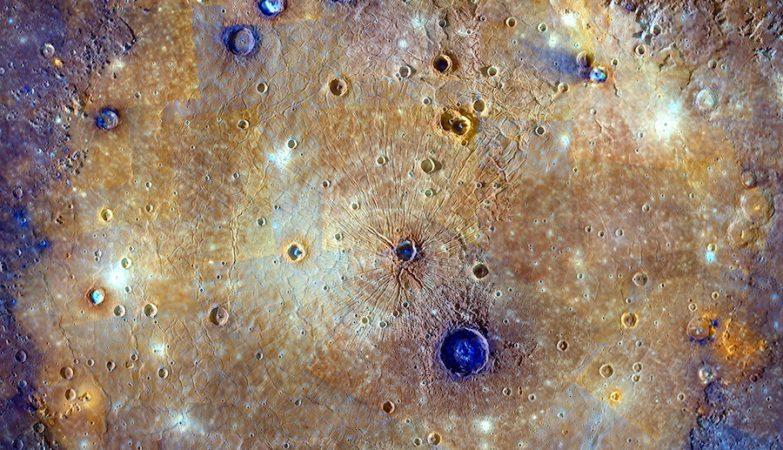 A contração global de Mercúrio começou há mais de 3,85 mil milhões de anos