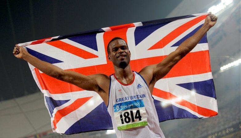 O atleta olímpico Germaine Mason