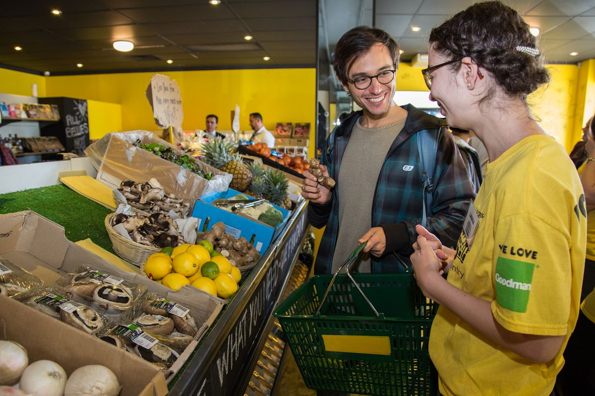 OzHarvest Market: Take what you need, give if you can