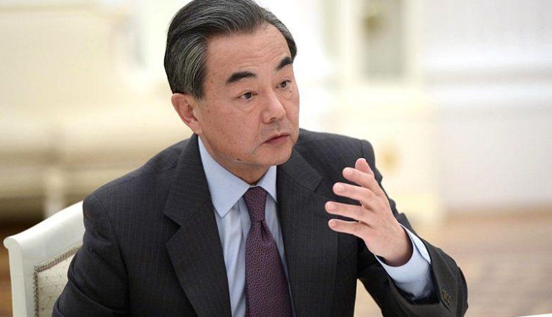 O ministro dos Negócios Estrangeiros chinês, Wang Yi