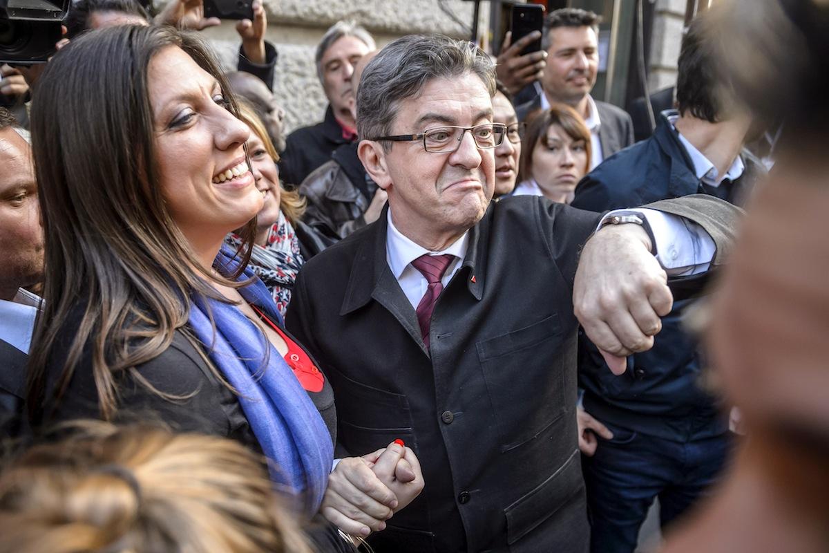 O candidato da 'La France insoumise', Jean-Luc Melenchon, não deu indicações de voto ao seu eleitorado