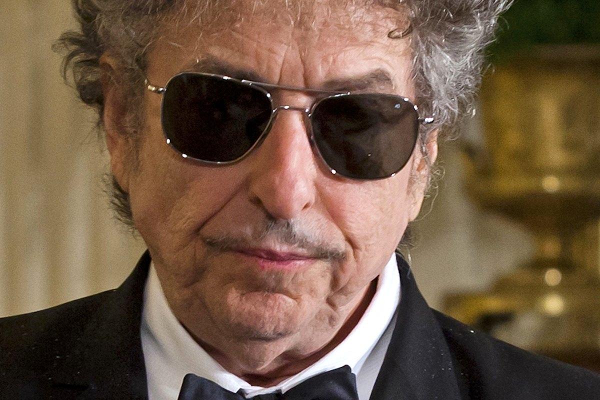 O músico Bob Dylan, Prémio Nobel da Literatura 2016,