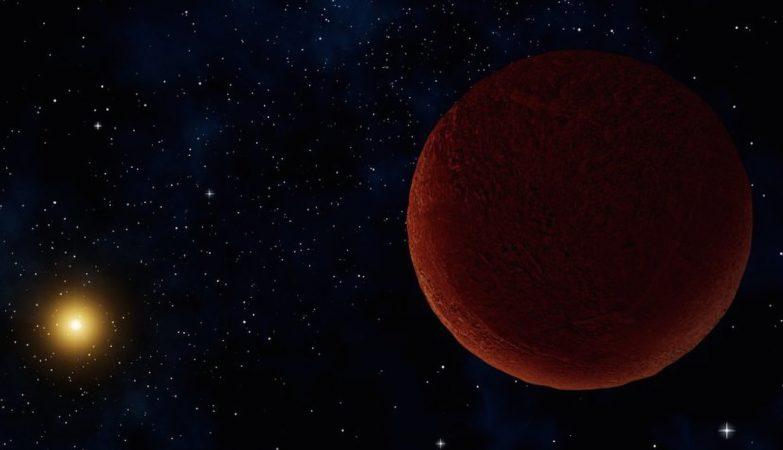 Os astrónomos não conseguiam dizer se DeeDee era pequeno, mas altamente reflexivo, ou grande, mas extremamente escuro.