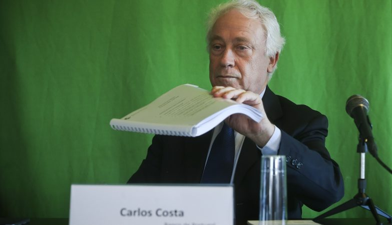O governador do Banco de Portugal, Carlos Costa