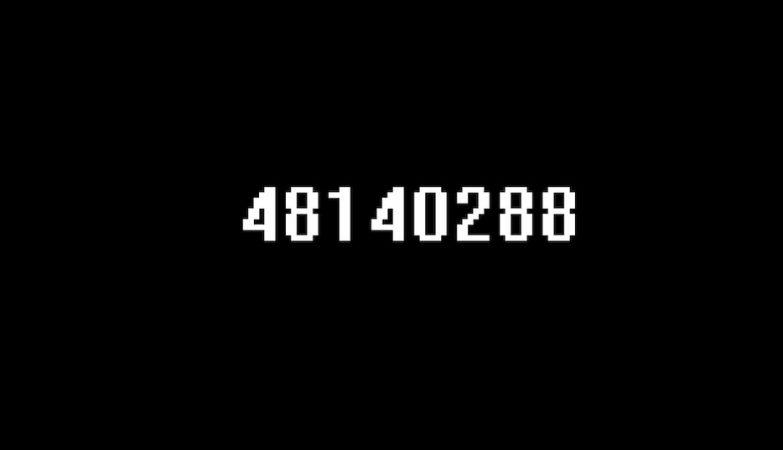A última frame do maior gif do mundo, tal como vai ser mostrada em 3037…