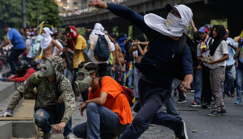 Protestos de 6 de Abril de 2017 em Caracas, Venezuela