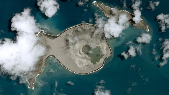 A nova camada de placas tectónicas foi descoberta abaixo de Tonga, no Pacífico