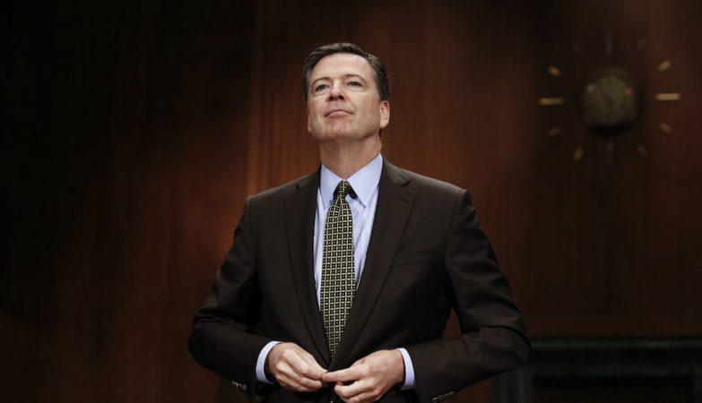 O ex-director do FBI, James Comey