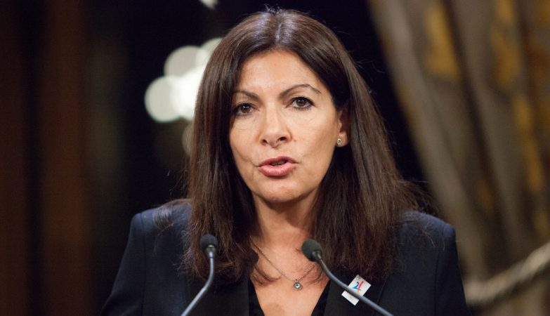 Anne Hidalgo, Presidente da Câmara de Paris