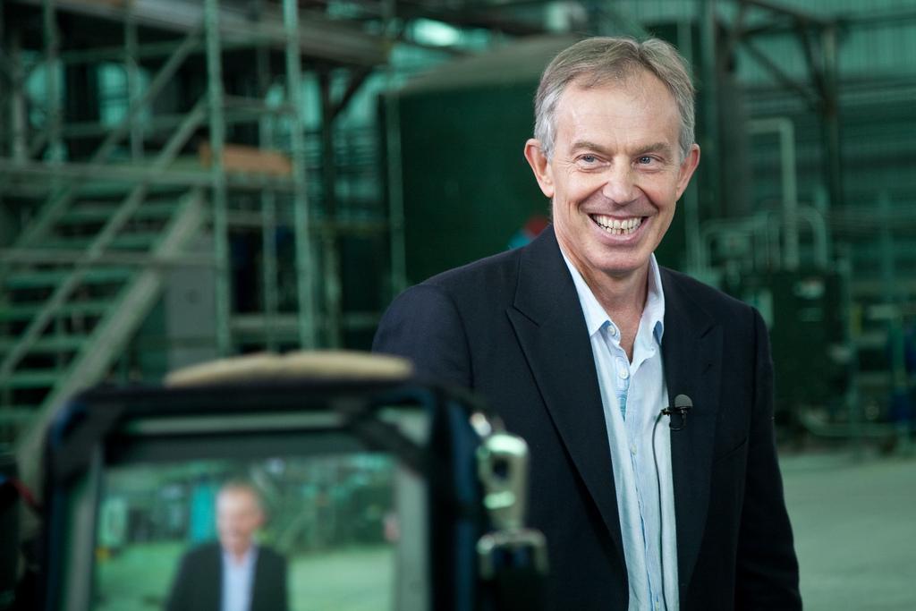 Tony Blair, ex-Primeiro-ministro britânico