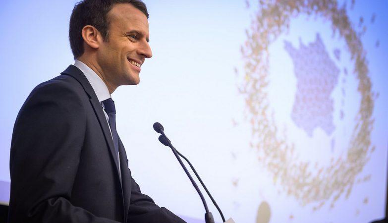 O novo Presidente francês, Emmanuel Macron