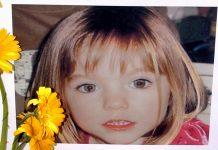 Maddie McCann com 3 anos, foto de 12 de maio 2007