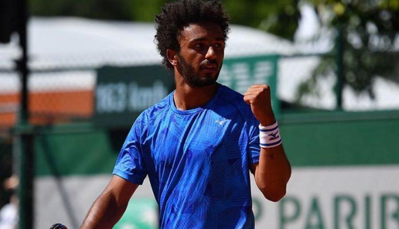 O tenista francês Maxime Hamou