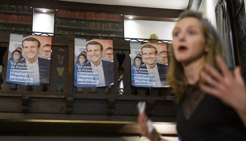 """O movimento """"Em Marche!"""" de Macron reivindica ter 200.000 militantes"""