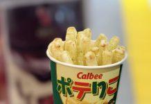 A Calbee é a principal marca japonesa de batatas fritas