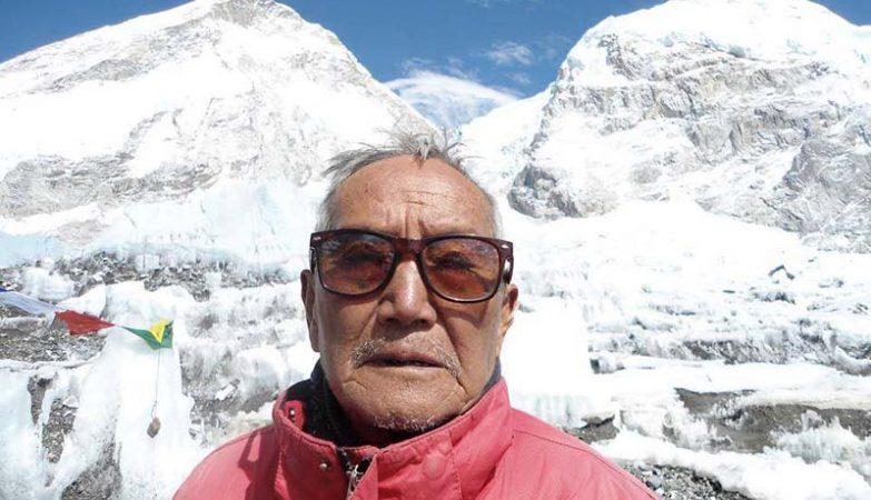 O alpinista Min Bahadur Sherchan