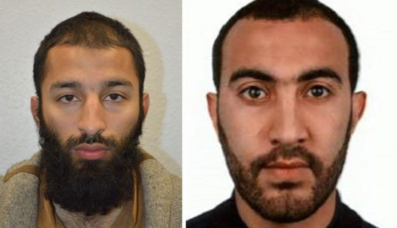 Khuram Shazad Butt (à esquerda) e Rachid Redouane (à direita)