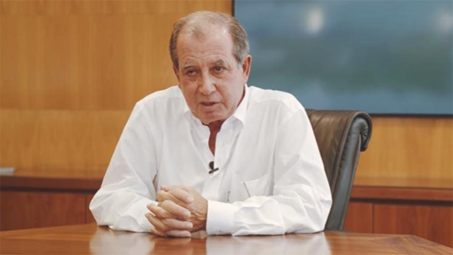 Comendador António Silva Rodrigues, dono da Simoldes e o quinto mais rico de Portugal.