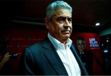 O presidente do Benfica, Luís Filipe Vieira