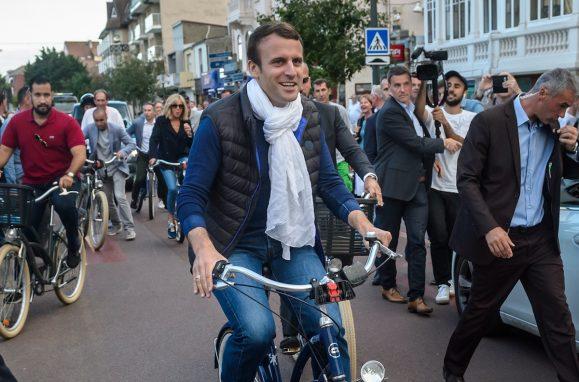 O president francês, Emmanuel Macron
