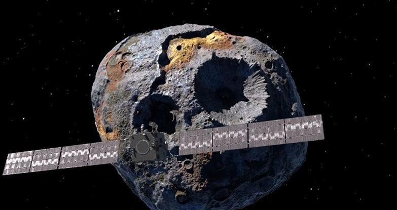 O asteróide 16 Psyche