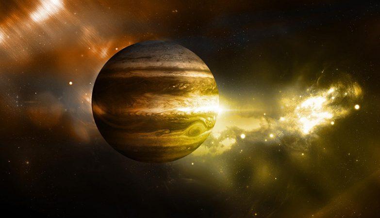 Júpiter não só é o maior planeta do Sistema Solar, como é também o mais antigo.